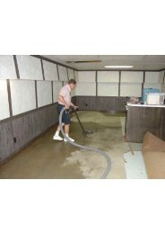 Water Damage Cleanup Fort Lauderdale