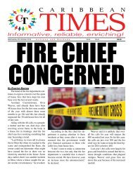 Caribbean Times 8th Issue - Wednesday 5th October 2016