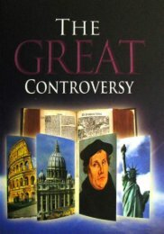 The Great Controversy by E. G. White