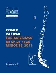 PRIMER INFORME SOSTENIBILIDAD DE CHILE Y SUS REGIONES 2015