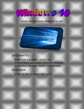 PROYECTO WINDOWS 10 tics