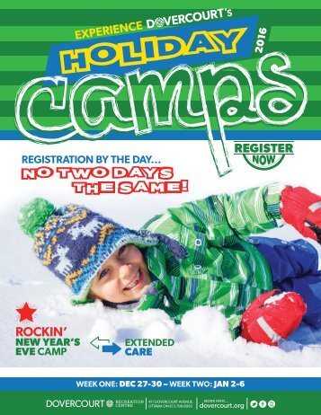 Dovercourt Winter Holiday Camps 2016