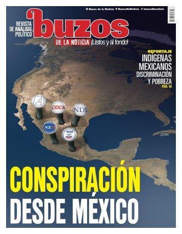 CONSPIRACIÓN DESDE MÉXICO