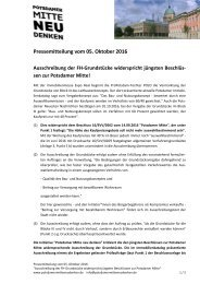 2016-10-05 PMND_PM Ausschreibung der FH-Grundstuecke widersp