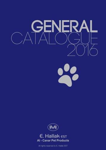 Al-Canar Cages General Catalogue 2016