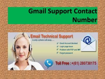 Gmail Support Australia Number Is The Best Solution To Your Problems.