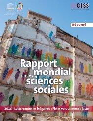 Rapport mondial sciences sociales