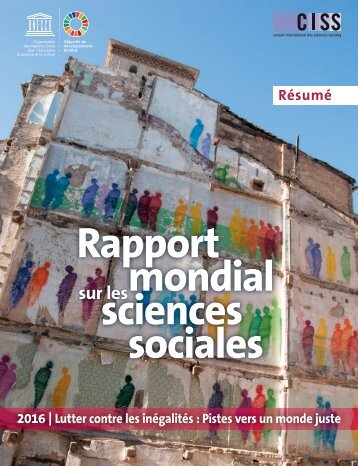 Rapport mondial sciences sociales
