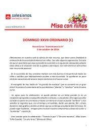 DOMINGO XXVII ORDINARIO (C)