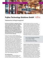 Fujitsu Technology Solutions GmbH - dacore Datenbanksysteme AG