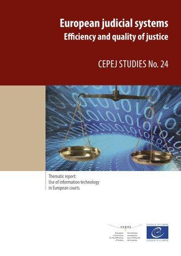 European judicial systems