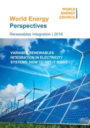 Variable Renewables Integration in Electricity Systems 2016 How to get it right