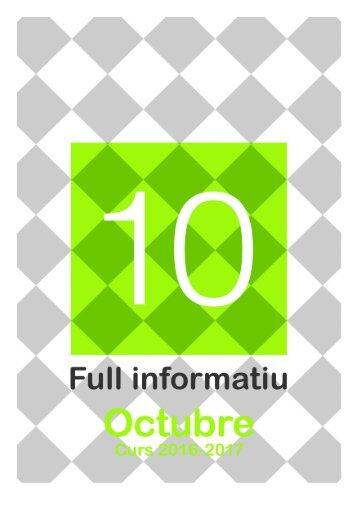 Full Informatiu OCTUBRE 2016