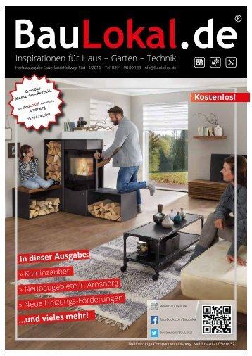 BauLokal.de Sauerland HSK/Hellweg Süd Herbstausgabe 4/2016