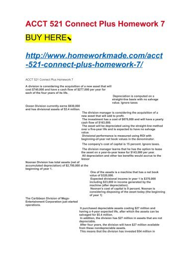connect homework manager
