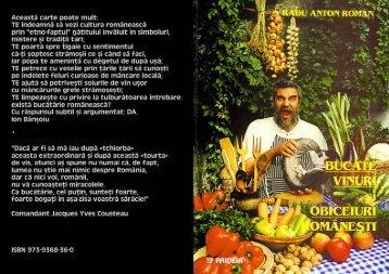 Radu Anton Roman - Carte de bucate (1)
