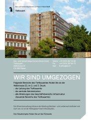 Infoflyer - Tiefbauamt - Basel-Stadt