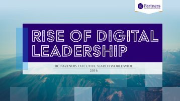 rise of digital leadership