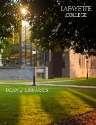 DEAN of LIBRARIES