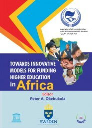 Funding Higher Education in Africa