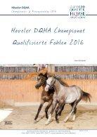 Höveler DQHA Championats-Körungs-Katalog 2016 - Seite 7