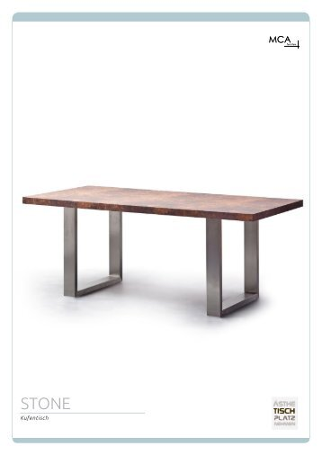MCA Furniture - Esstisch Stone