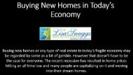 Buying New Homes in Today's Economy