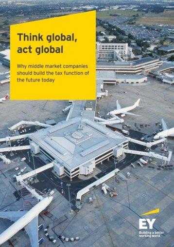 Think global act global