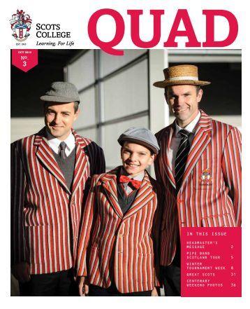 October Quad, Issue 3 2016