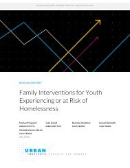 Family Interventions for Youth Experiencing or at Risk of Homelessness