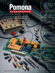 Catalogo Pomona Electronics 2016