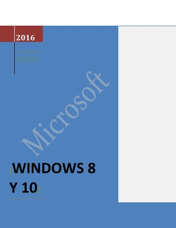 POROYECTO WINDOWS 10
