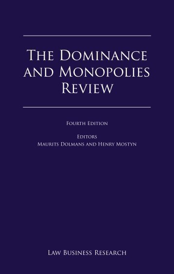 The Dominance and Monopolies Review