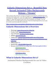 Galactic Dimensions Set 2 Review-$32,400 bonus & discount