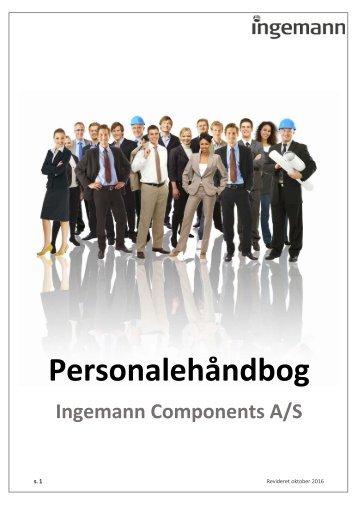 Ingemann Personalehåndbog (oktober 2016)