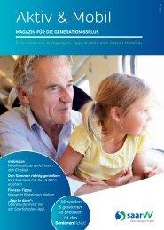 Seniorenmagazin Aktiv und Mobil 1/2016