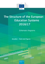 The Structure of the European Education Systems 2016/17