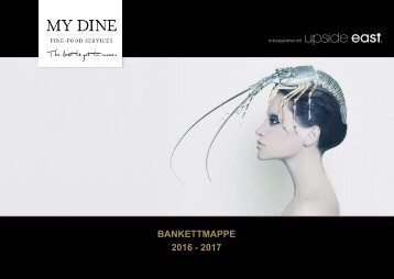 Bankettmappe My Dine 2016-2017