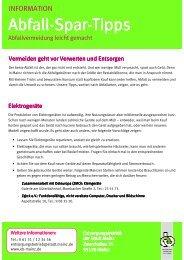 Abfall-Spar-Tipps - Entsorgungsbetrieb der Stadt Mainz