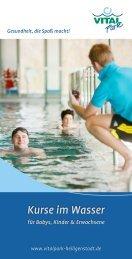 Kurse im Wasser