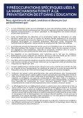 FRANCOPHONE CONTRE LA MARCHANDISATION DE L'ÉDUCATION - Page 6