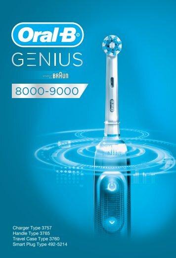 Braun D701.5xx.5, D701.5xx.6 - Genius 8000 - 9000 Manual (UK, RU, UA, KZ, UZ, KG, MNG, AZ, GE, IL)