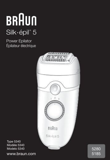user manual braun silk epil 1 rh yumpu com