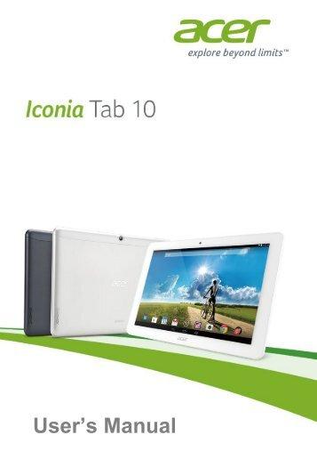 manual acer iconia a3 rh yumpu com Acer Iconia Tab A500 Case Acer Iconia Tab A500 Diagram
