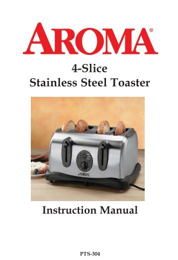 Ge 4 Slice Toaster ~ Instruction manual slice electric toaster tesco tech