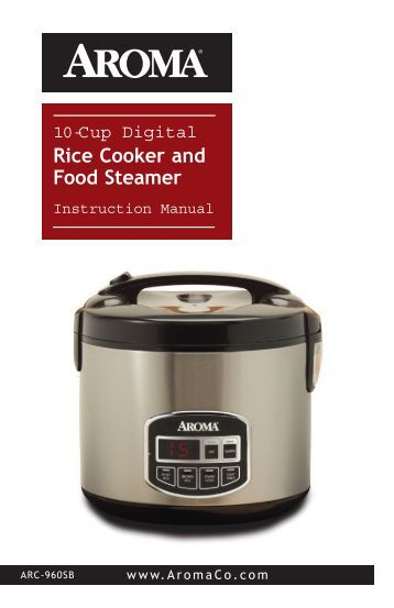 Where can you find Aroma rice cooker manuals?