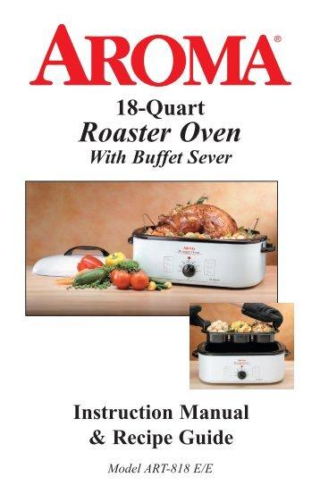 roaster oven horno aroma housewares rh yumpu com Colorful Art Bowl of Soup Clip Art
