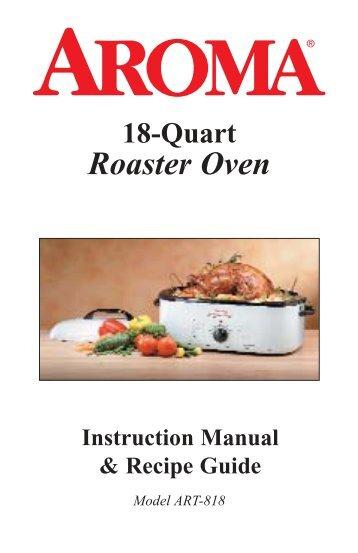 Aroma 18 Quart Roaster Oven ART 818