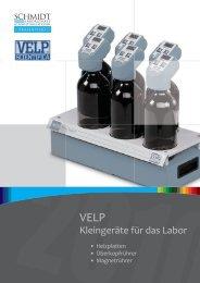 Weitere Produkte aus dem Velp Sortiment Thermoreaktoren BOD
