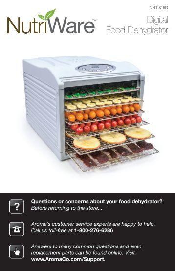 lumina dehydrator instruction manual